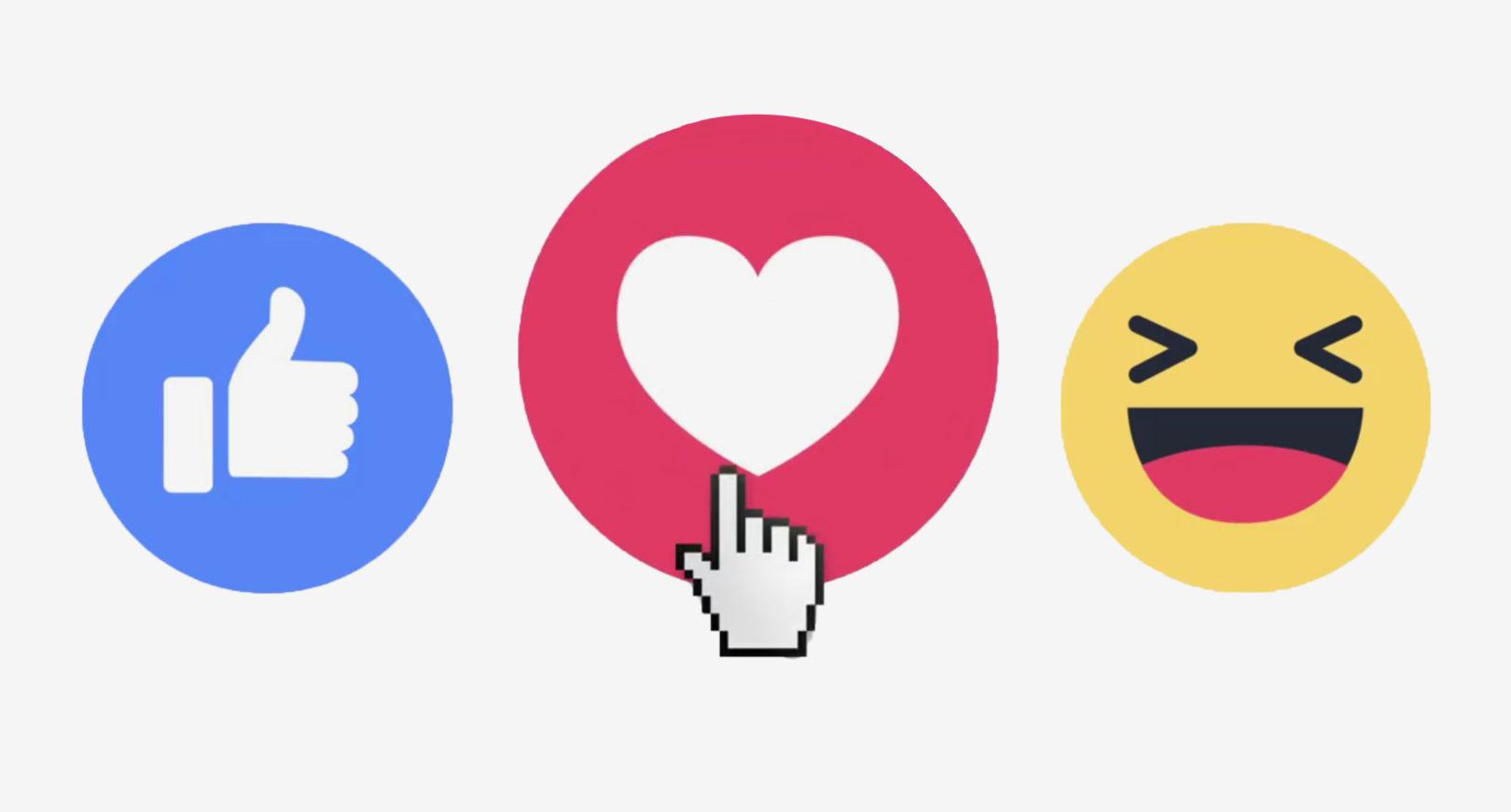 Fejsbuk vvel reakcii na kommentarii