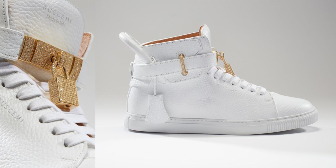 Неожиданно для нас самих рекордсменом среди самых дорогих кроссовок мира  стали фешенебельные кеды Buscemi 100 MM, украшенные бриллиантами общей  массой 11,50 ... 4d354298abc