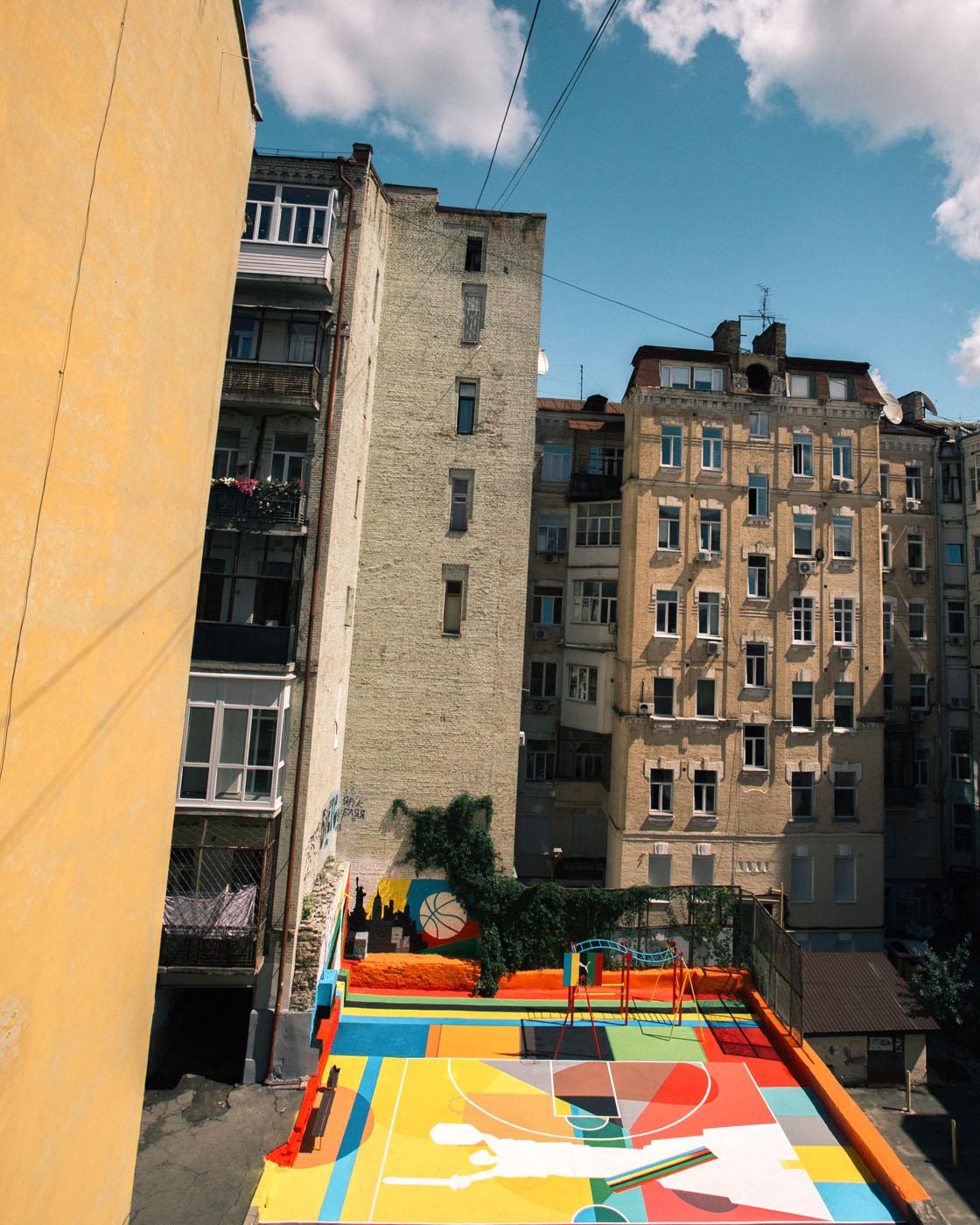 PUMA відкрив у центрі Києва баскетбольний майданчик. Ось який він на вигляд  — DTF MAGAZINE | DON'T TAKE FAKE